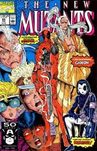 Primera aparición de Deadpool