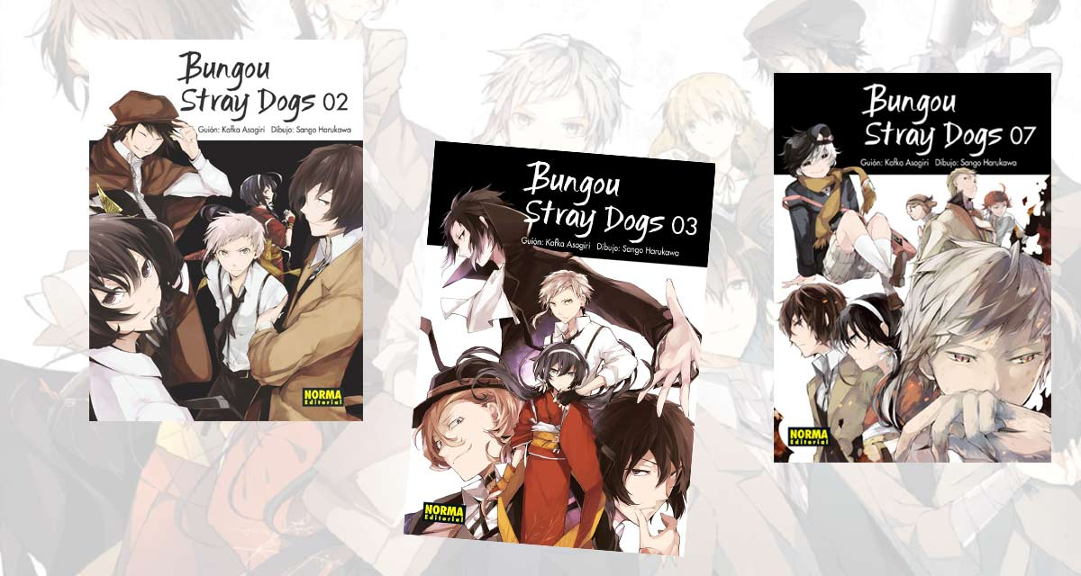 Bungou Stray Dogs Portadas