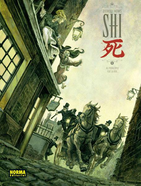 Shi 1. Al principio fue la ira. Book Cover